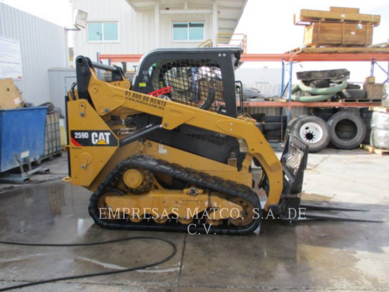 CATERPILLAR MULTITERREINLADERS 259DLRC equipment  photo 2