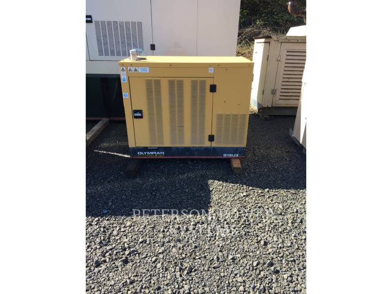 CATERPILLAR STATIONÄRE STROMAGGREGATE GAS 15KW equipment  photo 8