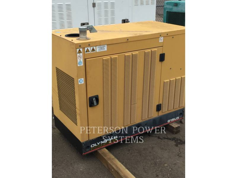 CATERPILLAR STATIONÄRE STROMAGGREGATE GAS 15KW equipment  photo 1