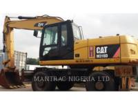 CATERPILLAR WHEEL EXCAVATORS M318 D equipment  photo 1