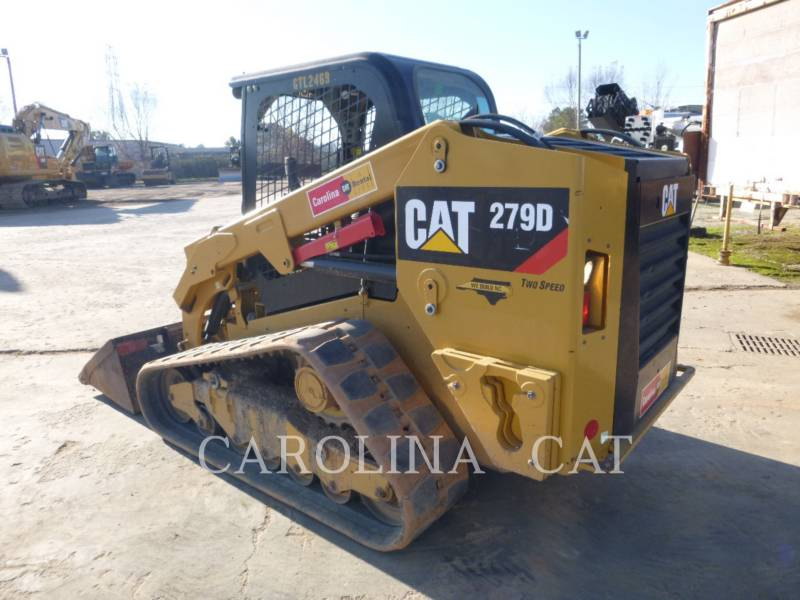 CATERPILLAR TRACK LOADERS 279D equipment  photo 1