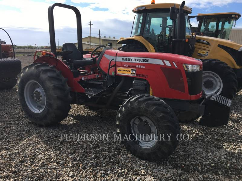 AGCO-MASSEY FERGUSON TRACTEURS AGRICOLES MF2680L equipment  photo 4