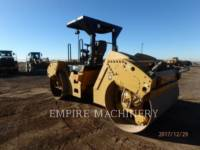 CATERPILLAR VIBRATORY DOUBLE DRUM ASPHALT CB64 equipment  photo 3