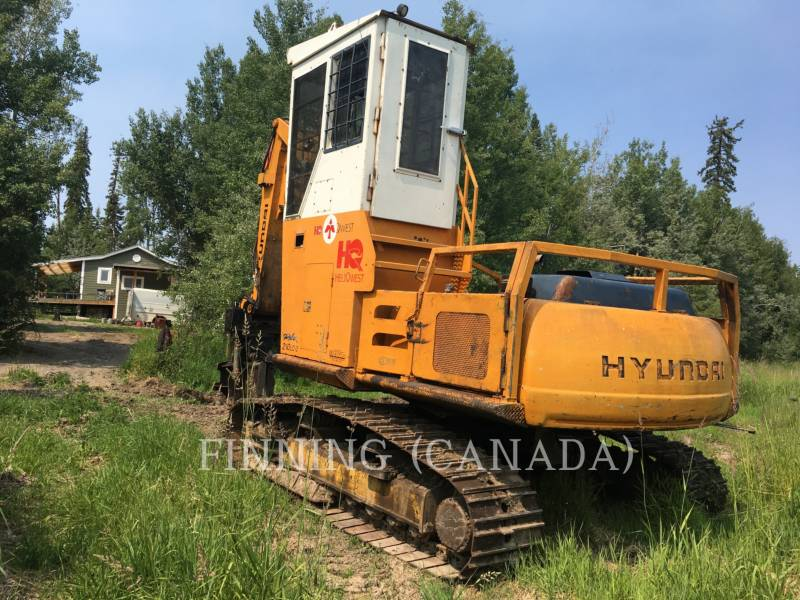 HYUNDAI FORESTAL - CARGADORES DE TRONCOS 210LC-3 equipment  photo 4