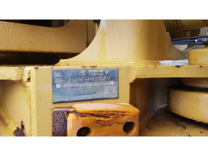 CATERPILLAR ARTICULATED TRUCKS 740EJ equipment  photo 5