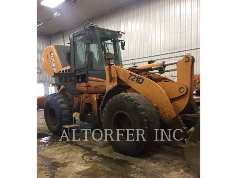 CASE/NEW HOLLAND WHEEL LOADERS/INTEGRATED TOOLCARRIERS 721D equipment  photo 1