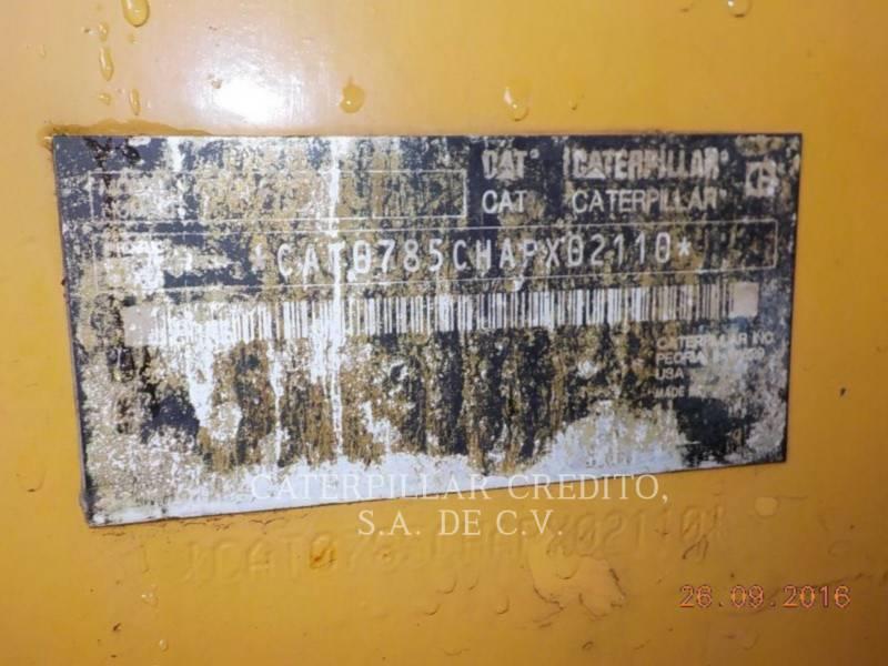 CATERPILLAR TOMBEREAUX DE CHANTIER 785C equipment  photo 24