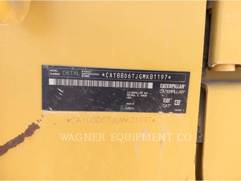 CATERPILLAR TRACTORES DE CADENAS D6T XL equipment  photo 6