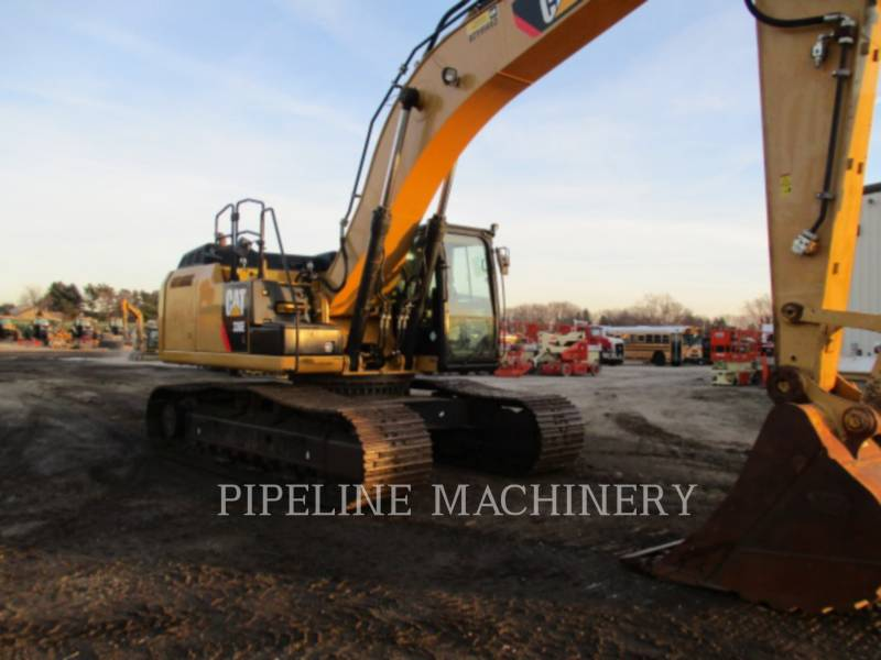 CATERPILLAR KETTEN-HYDRAULIKBAGGER 336EL equipment  photo 1