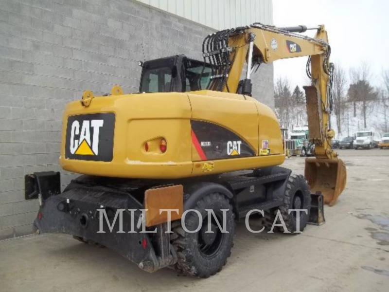 CATERPILLAR ESCAVATORI GOMMATI M313D equipment  photo 3