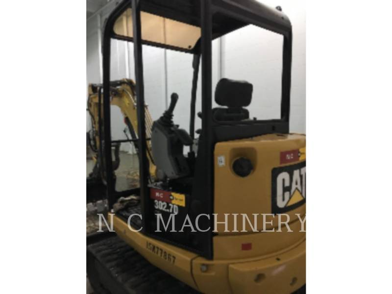 CATERPILLAR ESCAVATORI CINGOLATI 302.7DCR equipment  photo 2