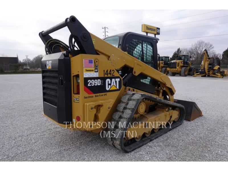 CATERPILLAR MULTITERREINLADERS 299D2 equipment  photo 4