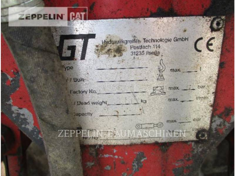 HYDRAULIK-GREIFER-TECHNOLOGIE-GMBH NARZ. ROB. - CHWYTAK DCS2-600 equipment  photo 2