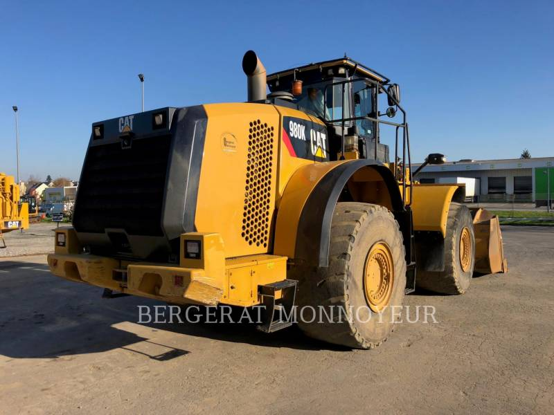CATERPILLAR MINING WHEEL LOADER 980K equipment  photo 7