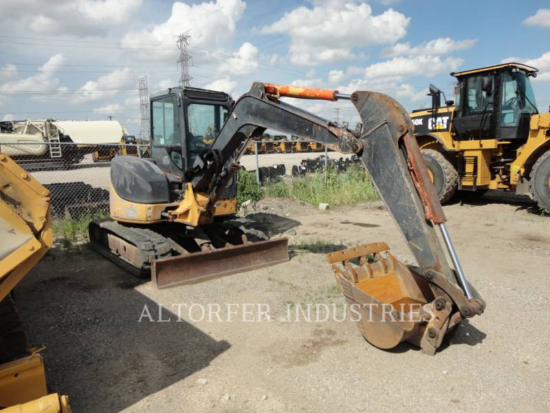JOHN DEERE KETTEN-HYDRAULIKBAGGER 50D equipment  photo 3