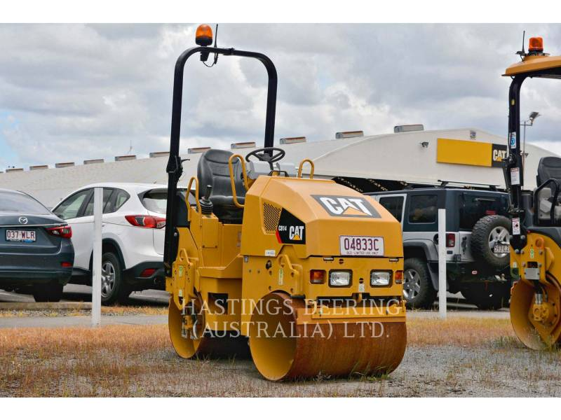 CATERPILLAR 振動ダブル・ドラム・アスファルト CB14 equipment  photo 1