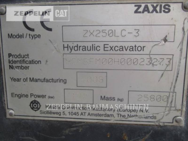 HITACHI TRACK EXCAVATORS ZX250LC-5 equipment  photo 5