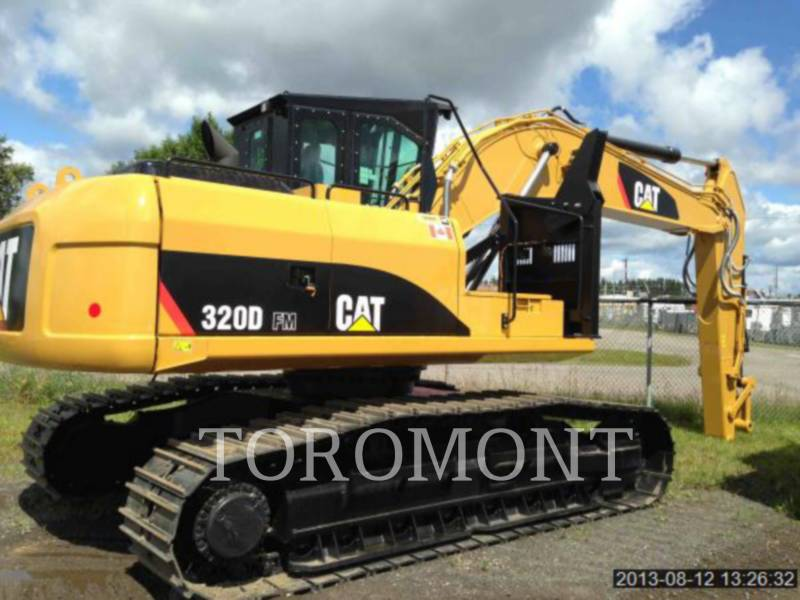 CATERPILLAR EXPLOITATION FORESTIÈRE - DÉBARDEURS 320DFM equipment  photo 1