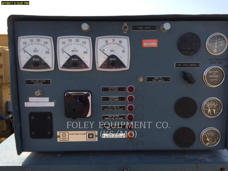 DETROIT DIESEL STATIONARY - DIESEL 4276TF001E equipment  photo 5
