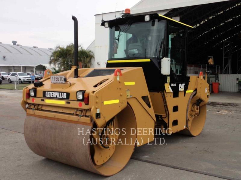 CATERPILLAR TANDEMOWY WALEC WIBRACYJNY DO ASFALTU (STAL-STAL) CB-534D equipment  photo 7