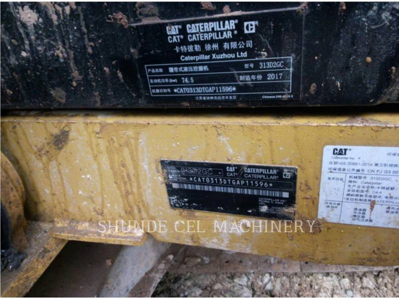 CATERPILLAR EXCAVADORAS DE CADENAS 313D2GC equipment  photo 2