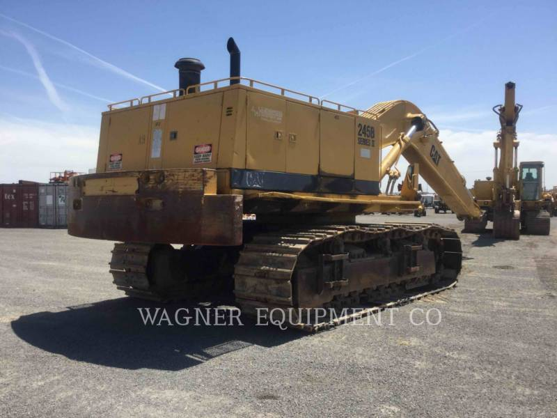 CATERPILLAR TRACK EXCAVATORS 245BII equipment  photo 3
