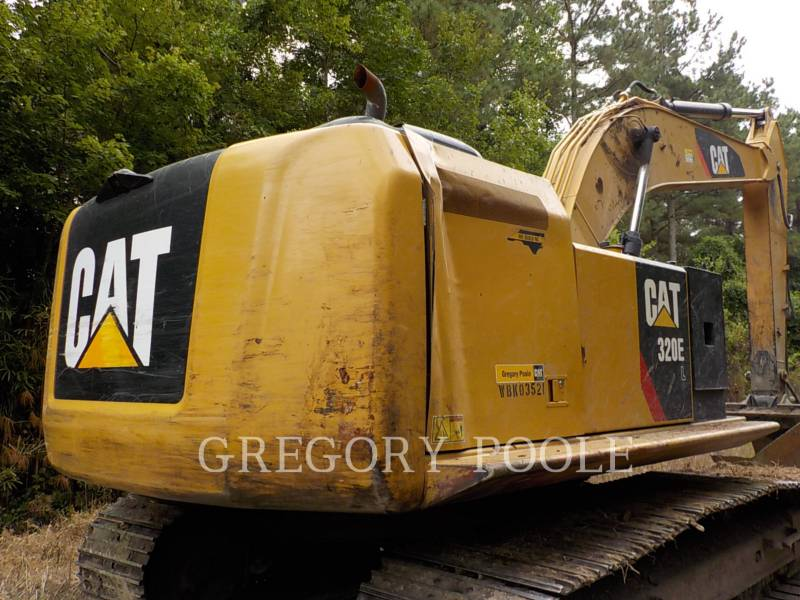 CATERPILLAR KETTEN-HYDRAULIKBAGGER 320E L equipment  photo 11