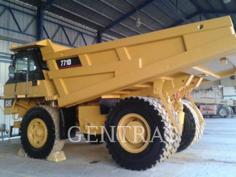 CATERPILLAR TOMBEREAUX DE CHANTIER 771D equipment  photo 4