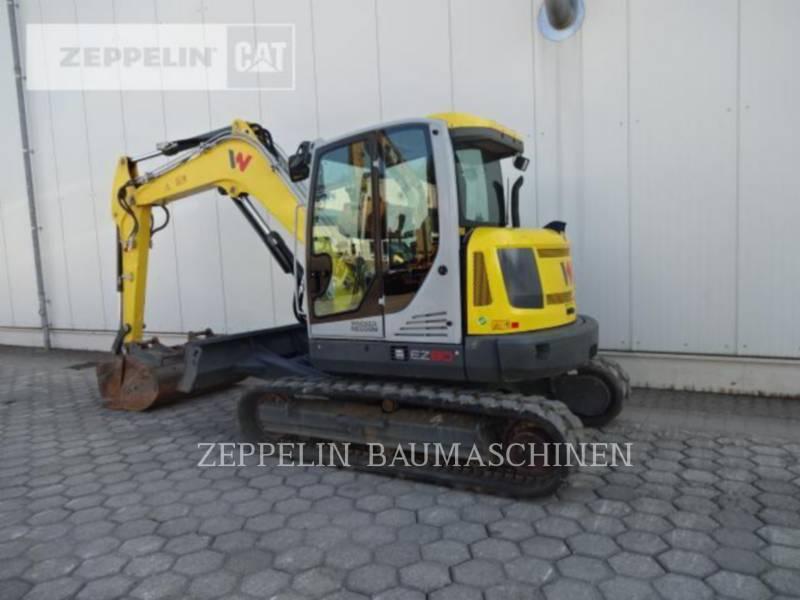 WACKER CORPORATION KETTEN-HYDRAULIKBAGGER EZ80 equipment  photo 3