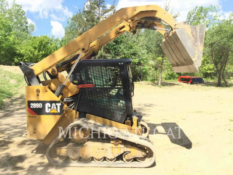 CATERPILLAR CARGADORES MULTITERRENO 289D A2Q equipment  photo 19