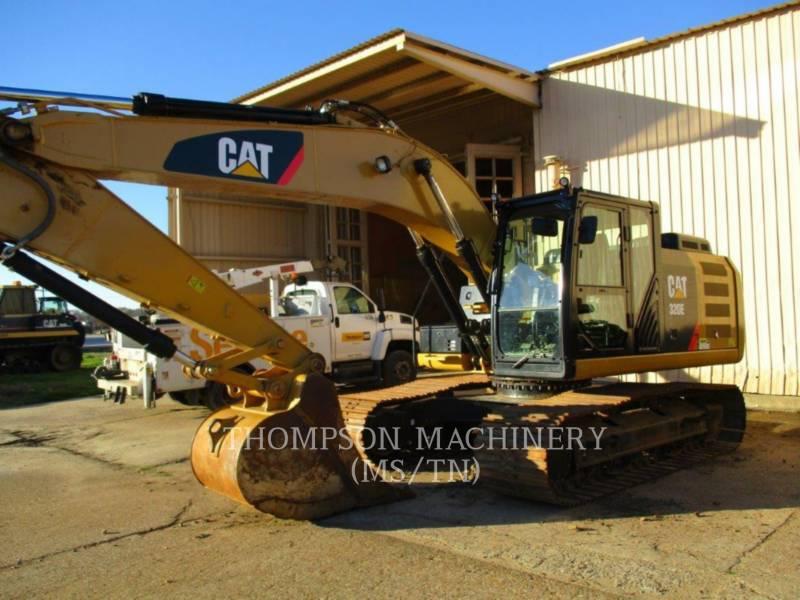 CATERPILLAR TRACK EXCAVATORS 320E equipment  photo 1