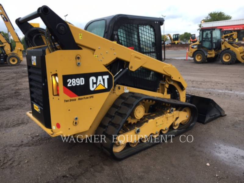 CATERPILLAR MINICARGADORAS 289D HF equipment  photo 3