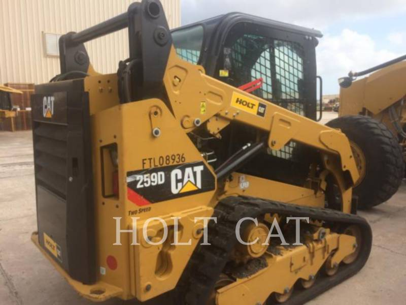 CATERPILLAR MULTI TERRAIN LOADERS 259D CAB equipment  photo 3