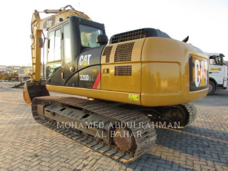CATERPILLAR KETTEN-HYDRAULIKBAGGER 320 D L equipment  photo 3