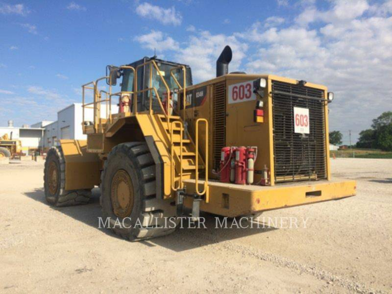 CATERPILLAR DOZER GOMMATI 834H equipment  photo 3
