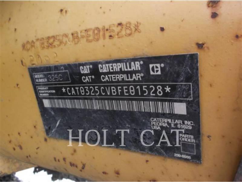 CATERPILLAR TRACK EXCAVATORS 325CL equipment  photo 5
