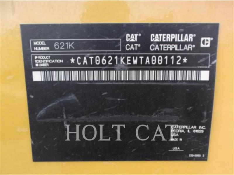 CATERPILLAR MOTOESCREPAS 621K equipment  photo 5