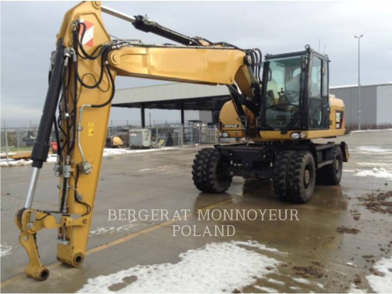 CATERPILLAR WHEEL EXCAVATORS M315/D equipment  photo 1