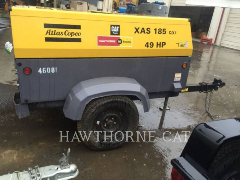 ATLAS-COPCO AIR COMPRESSOR (OBS) 185 XAS equipment  photo 7