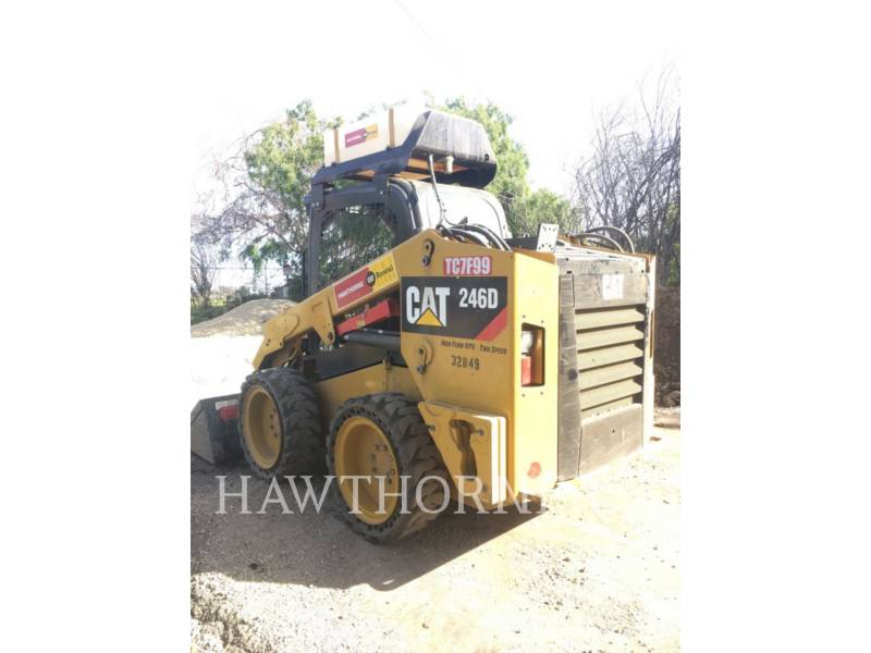 CATERPILLAR SKID STEER LOADERS 246D  HF equipment  photo 5