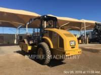 CATERPILLAR COMPATTATORE A SINGOLO TAMBURO VIBRANTE LISCIO CS44B equipment  photo 3