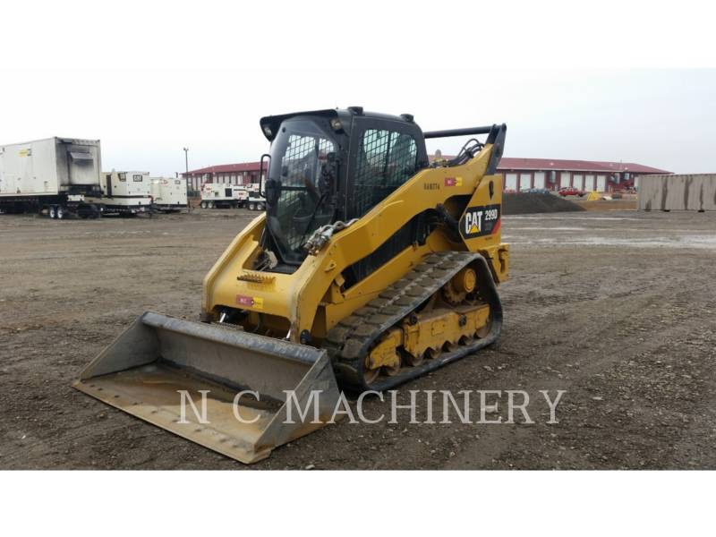 CATERPILLAR SKID STEER LOADERS 299D XHPCB equipment  photo 2