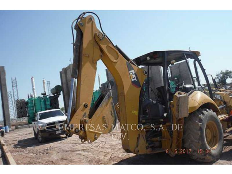 CATERPILLAR BAGGERLADER 416E equipment  photo 5