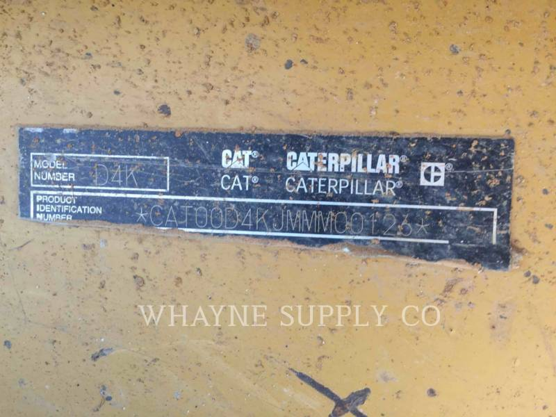 CATERPILLAR TRACK TYPE TRACTORS D4KXL equipment  photo 9