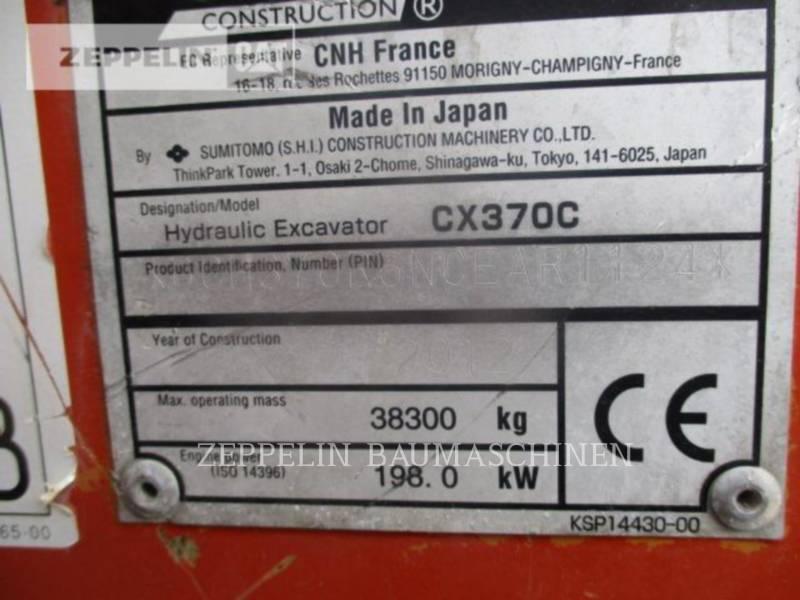 CASE ESCAVADEIRAS CX370C equipment  photo 9