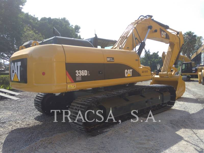 CATERPILLAR ESCAVATORI CINGOLATI 336DL equipment  photo 3