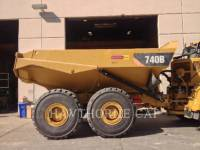 Caterpillar CAMIOANE CU BENĂ BASCULANTĂ 740B equipment  photo 2