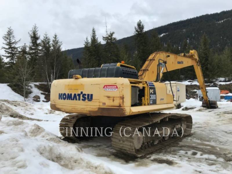 KOMATSU TRACK EXCAVATORS PC300LC-8 equipment  photo 6