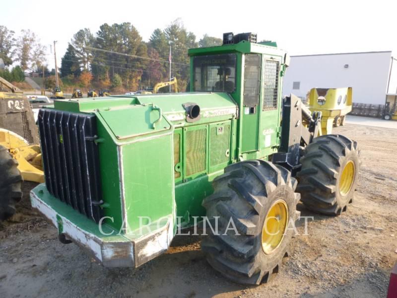 JOHN DEERE FORESTRY - FELLER BUNCHERS - WHEEL 643K equipment  photo 4