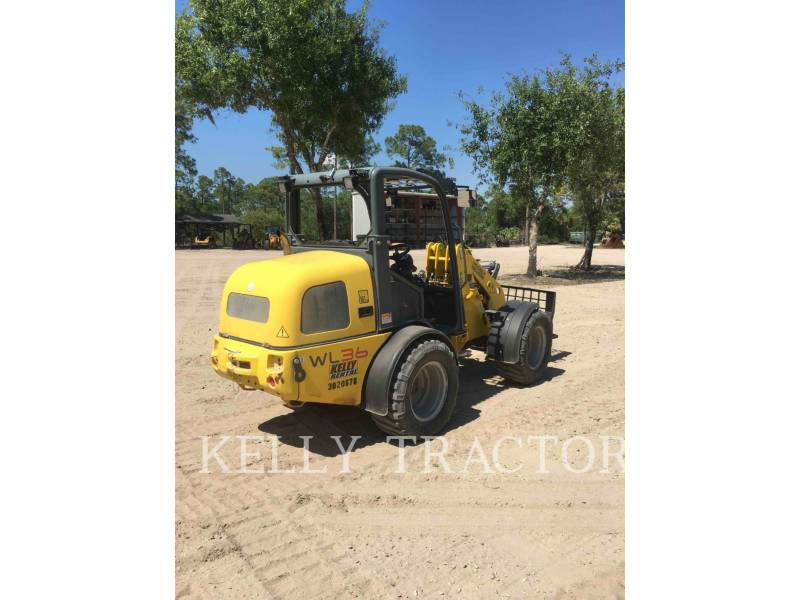 WACKER CORPORATION WHEEL LOADERS/INTEGRATED TOOLCARRIERS WL36 equipment  photo 5